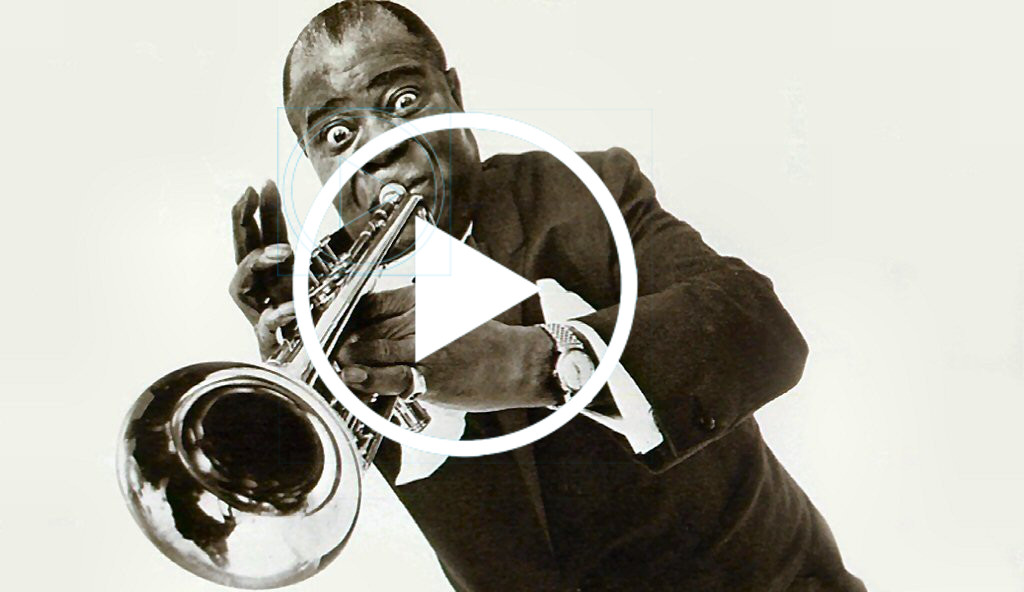 Позитивный вечный хит Louis Armstrong - What a wonderful world